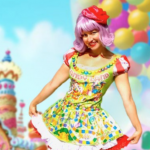Candy Land Theme Party Clown