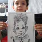 Caricaturists.Drawings