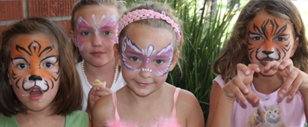 Face painters los angeles face painters face painters for Face painting for parties