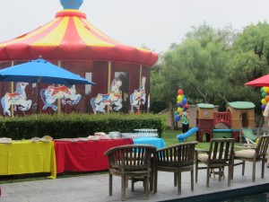 Kids Carnival Party Decor