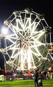 Lighted.Ferris.Wheel.Rides