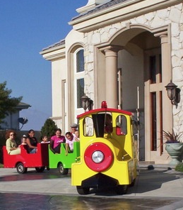 Trackless Train Rides Los Angeles Birthday Party Trains