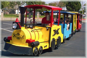Trackless Train Rentals Los Angeles