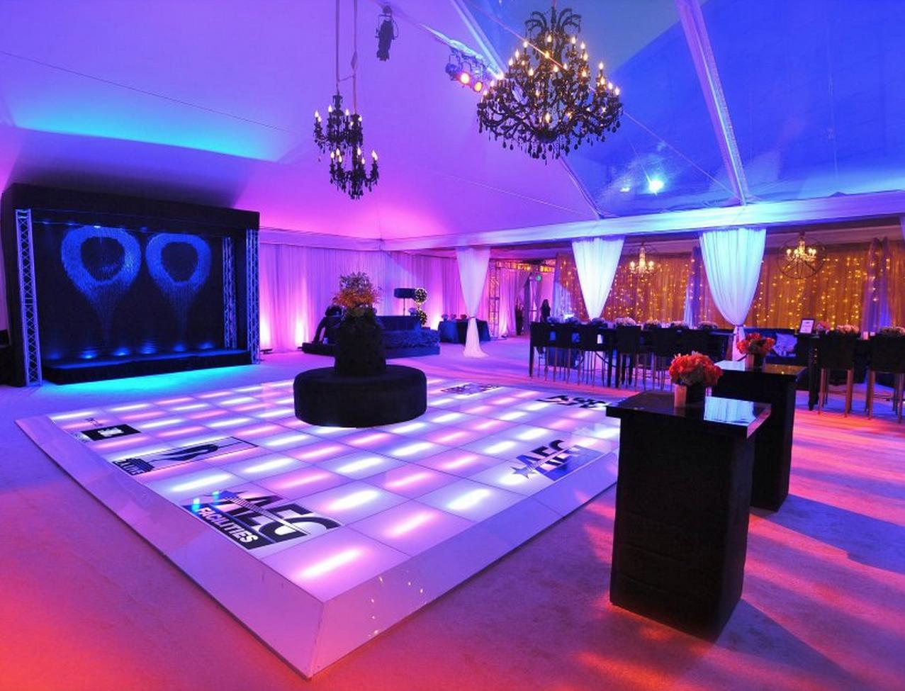 Portable Lighted Dance Floor : Dance floors for weddings portable