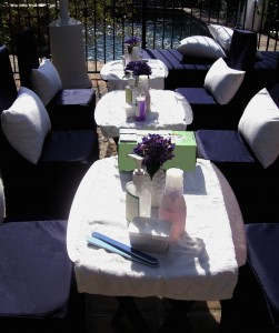 pampering party spa