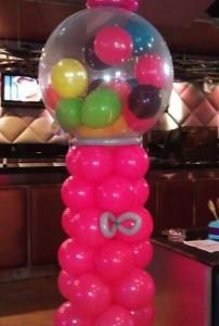 #gumballballoonarch