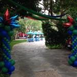 #partyentranceballoons
