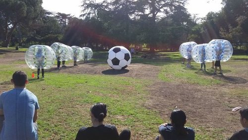 Bubble.Soccer.Games